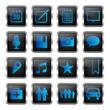 blue icon set 2 (16 icons)