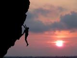 Fototapeta niebieski - waleczny - Alpinizm / Wspinaczka