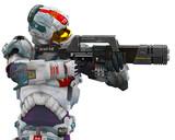 astronalt hero got a gun pointed