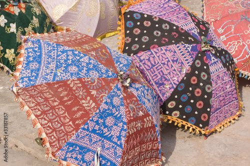 colorful umbrellas, Jaipur,Rajasthan,India
