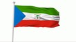 Fahne Äquatorialguinea NTSC