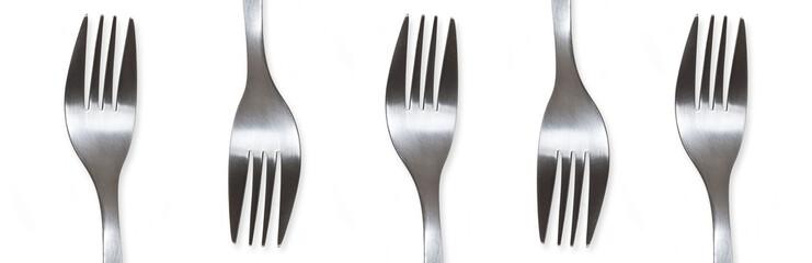 bannière de fourchettes