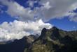 szczyty w chmurach