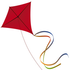 Cerf-Volant-Rouge