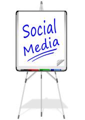 Flipchart Social Media