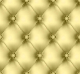 Luxury buttoned leather pattern. EPS 8