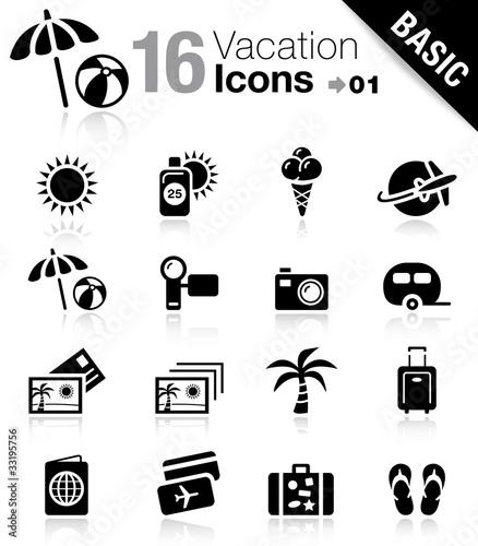 Základní - Dovolená ikony