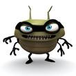 green hacker bug