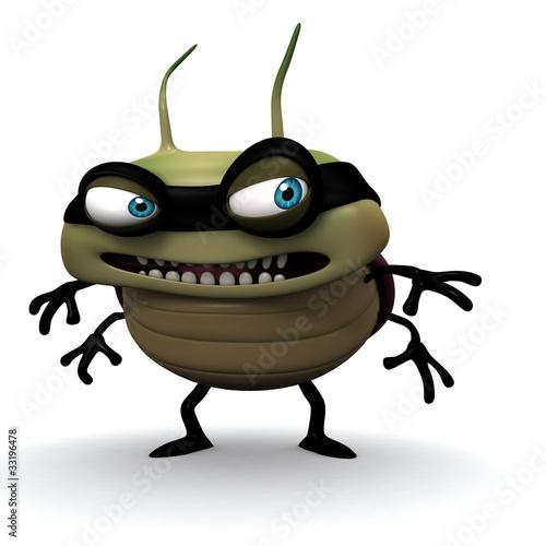 Hacker bug smile