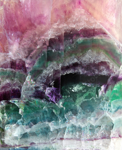 canvas print picture Fluorite pattern