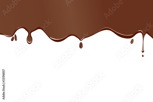 a chocolate splodge background
