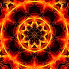 Feuer Mandala II