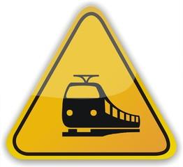 panneau train
