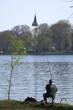 Angler an der Spree