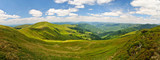 Valley in Carpathian mountains