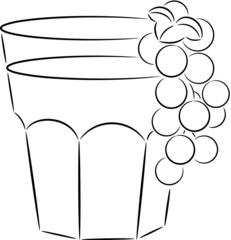 Glass of juice
