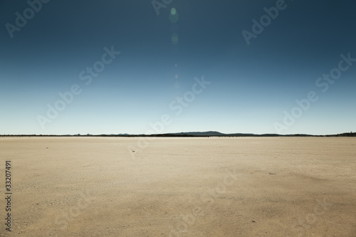 Aluminium Droogte Outback Landscape