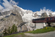 mont Blanc and cableway