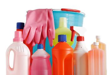 bucket and detergents - prodotti detergenti