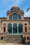 Barcelona Hospital de Sant Pau - famous Modernist architecture poster