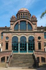 Barcelona Hospital de Sant Pau - famous Modernist architecture