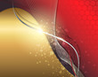 Abstract background red and gold.