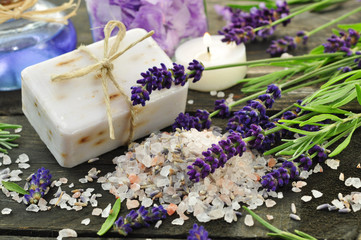 Lavendelbad