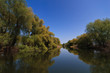 river channel in the Danube Delta