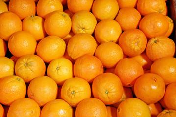 background of oranges