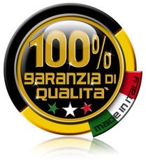 Garanzia di qualità 100% made in Italy