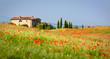 Leinwandbild Motiv rotes Italien