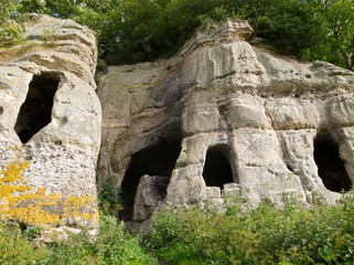 Anchor Church Caves, South  Derbyshire. U.K