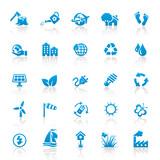 Blue Web Icons