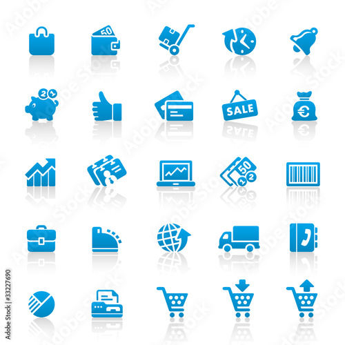 Blue Web Icons
