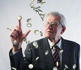 rain on money