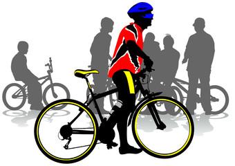 Cyclist city