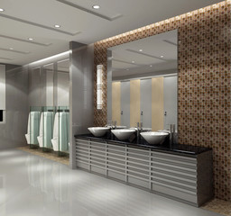 rendering bathroom
