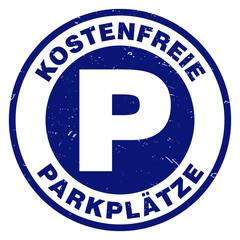 button stempel kostenfreie parkplätze