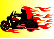 Fire motorcycle