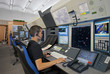 Leinwanddruck Bild - Flugverkehrskontrolle
