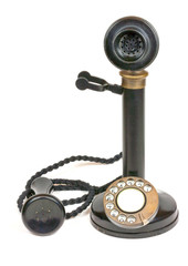 Vintage candlestick telephone