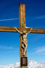 Cross on Top of Klein Matterhorn