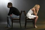 Sprachloses Ehepaar