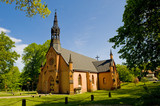 Rural Lutheran church in Sweden