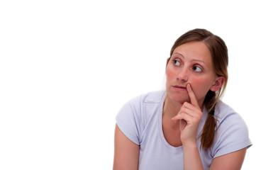 Gedanken der Frau