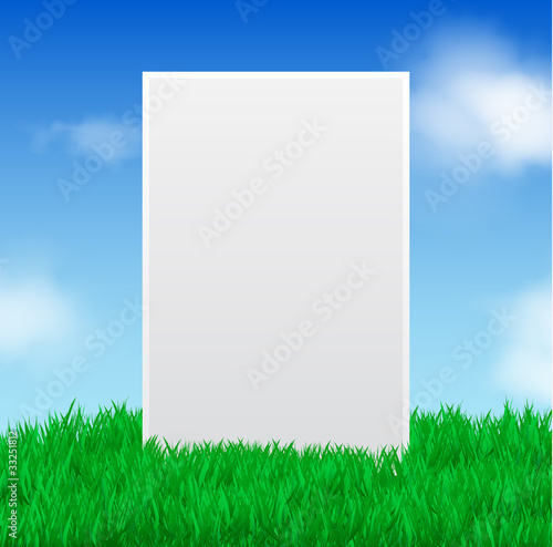 Board in Field