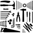 diy tool - silhouette illustration