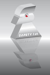 Dreieck Spitzen safety first