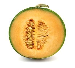 Melon cantaloupe corte