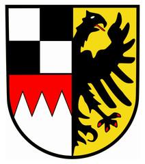 Mittelfranken Wappen Flagge Bayern